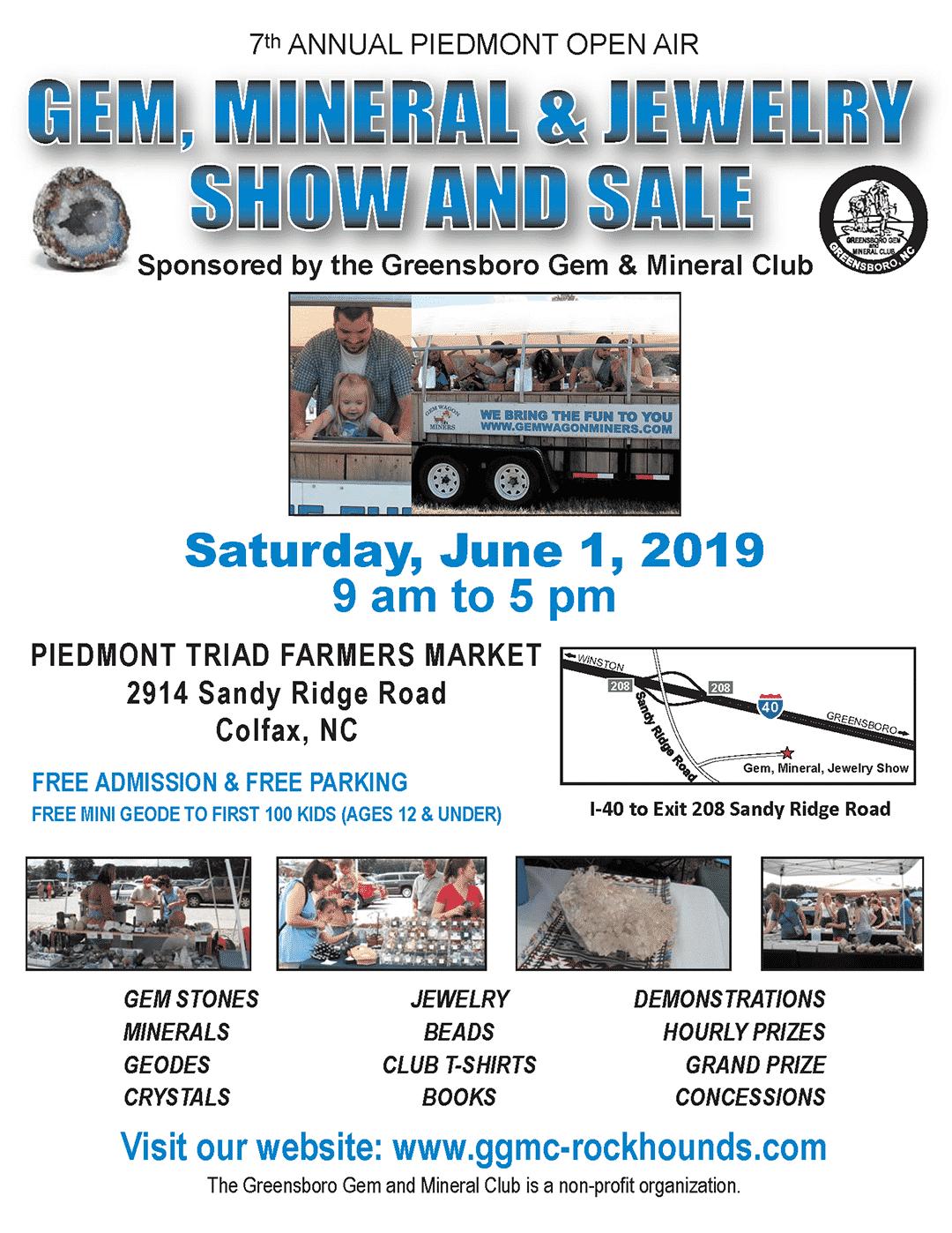 Greensboro NC Gem and Mineral Club - GGMC Rockhounds